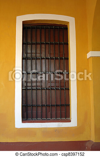 window with grille - csp8397152