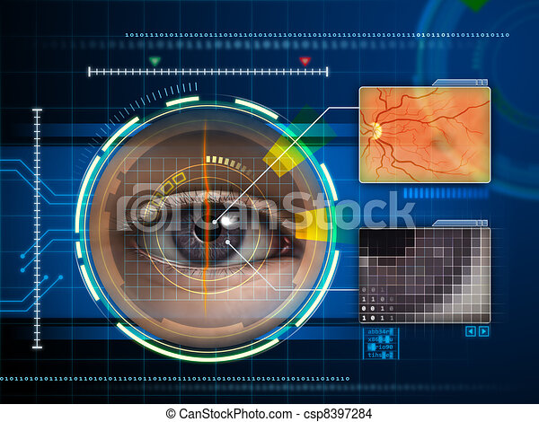 ojo, explorador - csp8397284