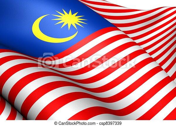 Flag of Malaysia - csp8397339