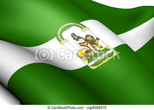 illustration de drapeau de andalousie espagne fin haut csp8399370 recherchez des clipart. Black Bedroom Furniture Sets. Home Design Ideas