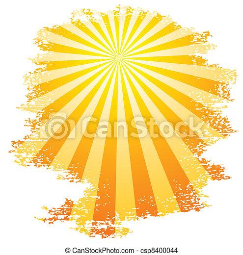Sunbeams. - csp8400044
