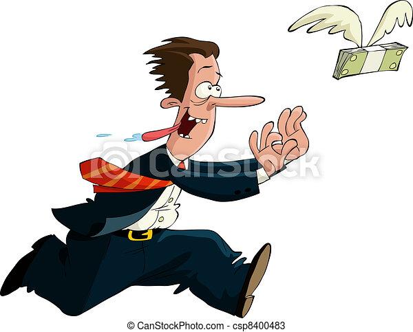 The pursuit of money - csp8400483