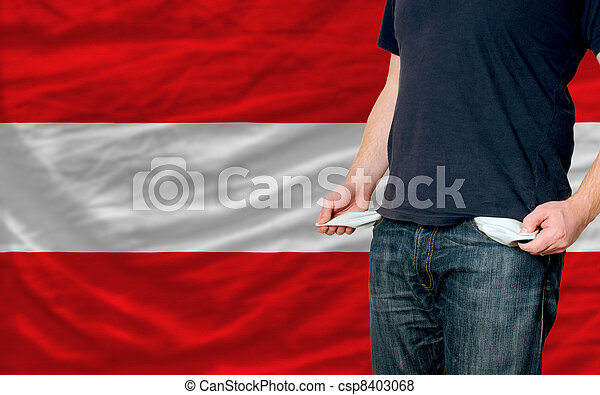 recession impact on young man and society in austria