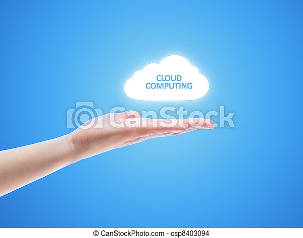 Cloud Computing Concept - csp8403094