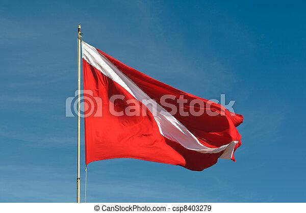 Scuba Dive Flag - csp8403279