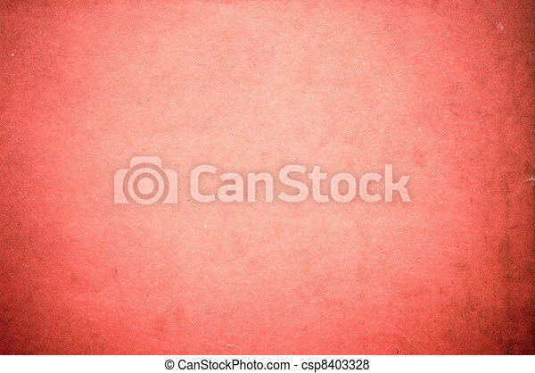 Surface of pastel red paper - csp8403328