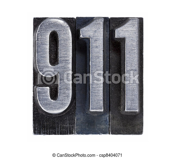 emergency phone number 911 - csp8404071