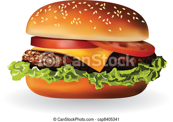 hamburger - csp8405341