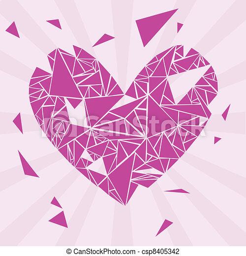 broken heart - csp8405342