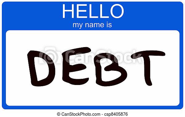 Hello my name is DEBT - csp8405876