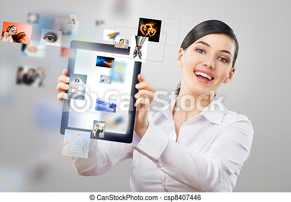 tablet pc - csp8407446
