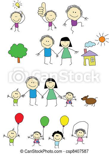 Happy people - csp8407587