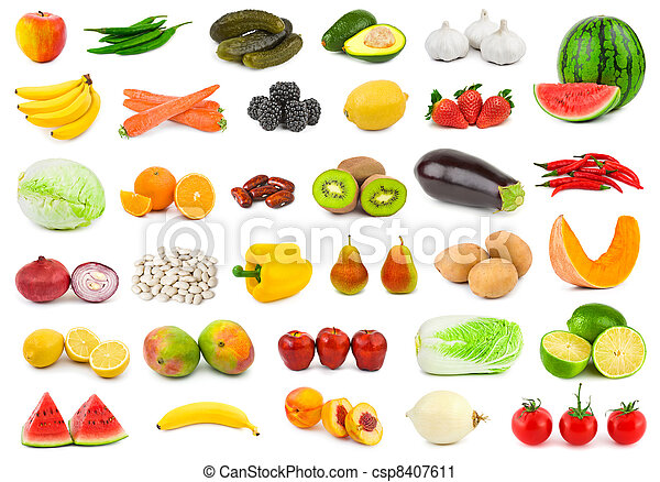 蔬菜, 水果 - csp8407611