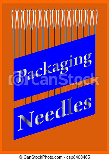 A set of needles. - csp8408465