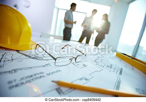 ingegneria, oggetti - csp8409442