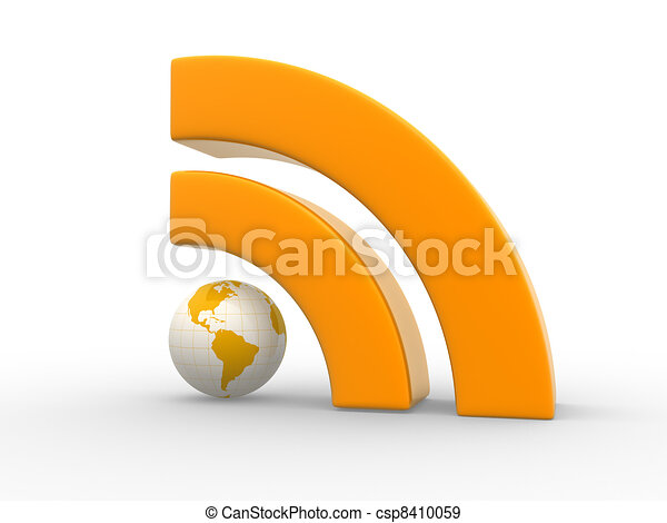 RSS symbol - csp8410059