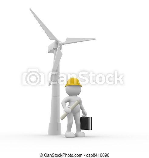 Wind-power - csp8410090
