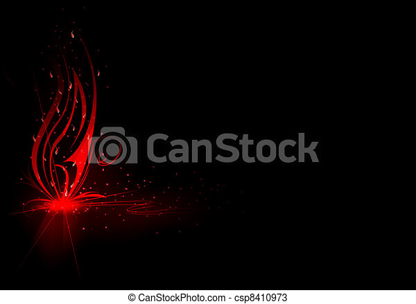 vivid abstract background - csp8410973