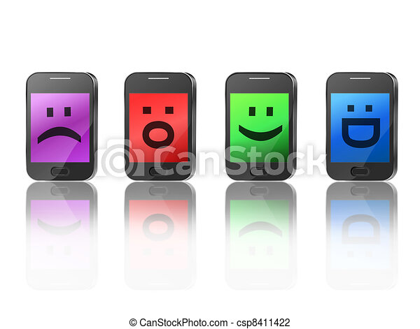 Telecommunications concept. - csp8411422