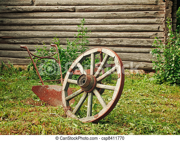wheel and plough - csp8411770