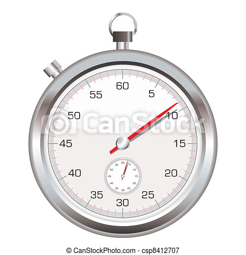 Stop watch icon - csp8412707