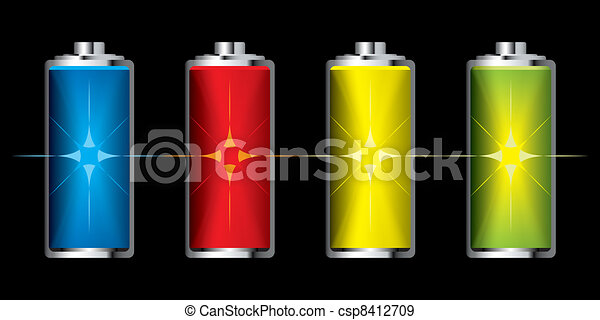 Battery charge flash - csp8412709