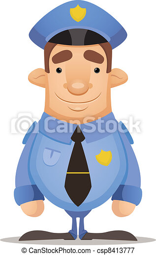 Police Officer - csp8413777