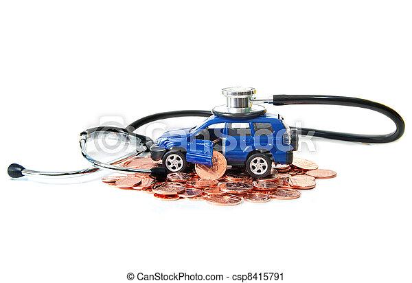 Car insurance - csp8415791
