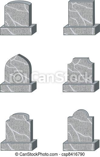 headstone shapes - csp8416790