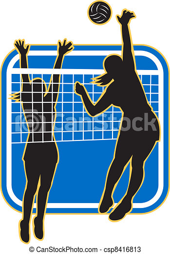 Volleyball images cartoon