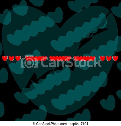 SOS for a broken heart - csp8417104