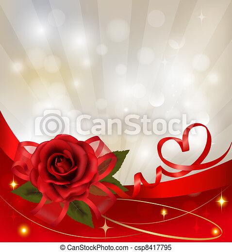 Valentine`s day background. - csp8417795