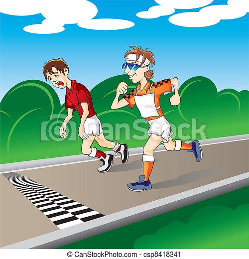 Marathon - csp8418341