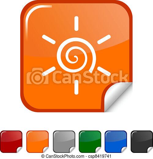 Sun  icon. - csp8419741