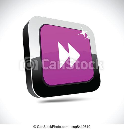 Forward 3d square button. - csp8419810