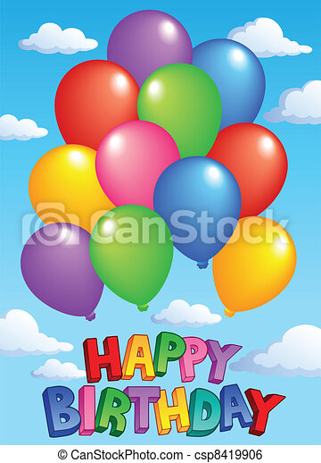 Happy Birthday topic image 4 - csp8419906