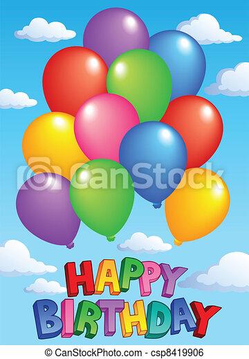 Happy Birthday topic image 4 - csp8419906