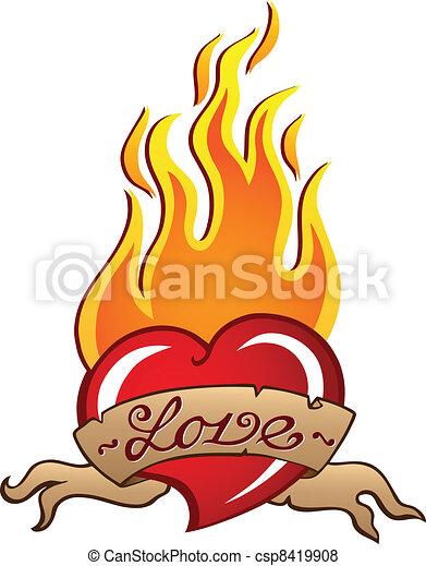 Heart theme image 3 - csp8419908