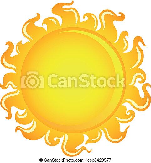 Sun theme image 1 - csp8420577