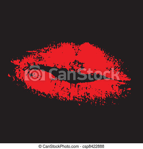 red lips - csp8422888