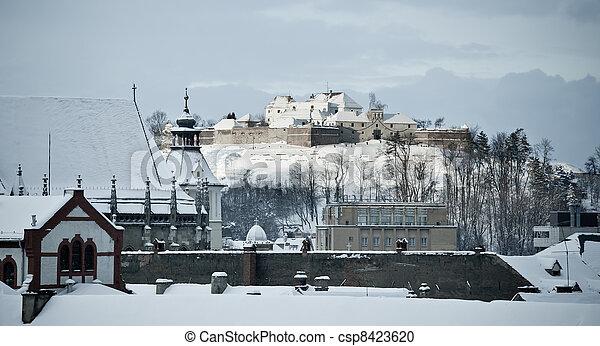 Cetatuia fortress, Brasov - csp8423620