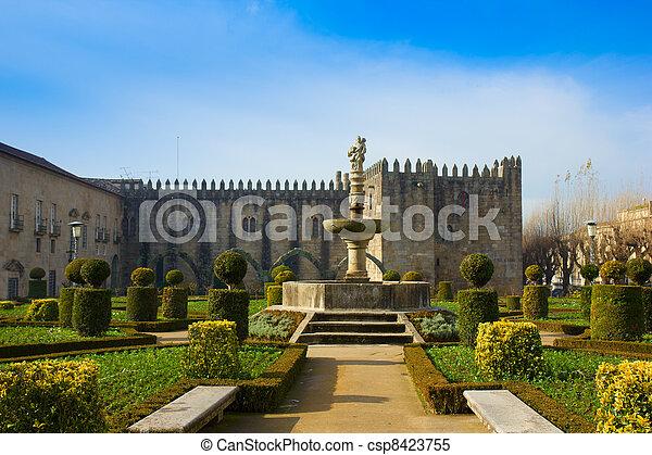 Palace of bishop, Braga, Portugal - csp8423755