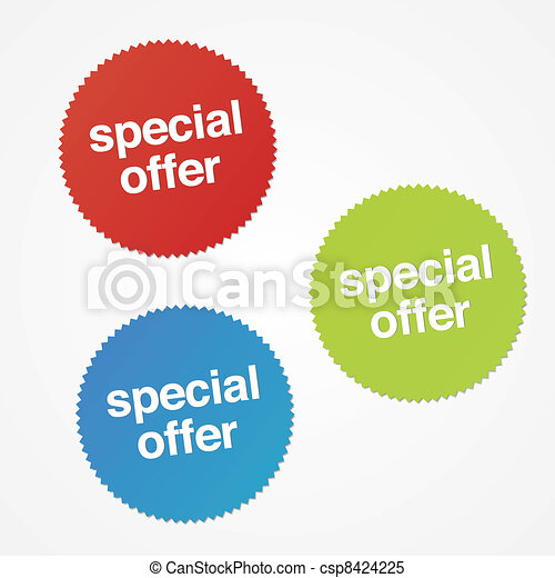 Special Offer Stickers - csp8424225