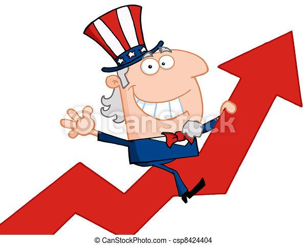 Uncle Sam  - csp8424404