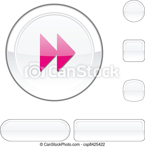 Forward white button. - csp8425422