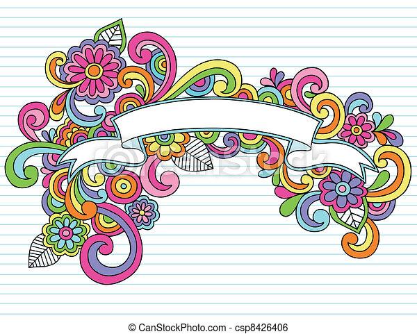 Yearbook Clip Art Doodle