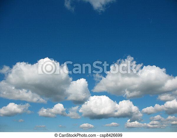 Heavenly landscape - csp8426699