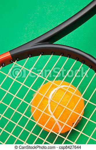 winning tennis tournaments - csp8427644