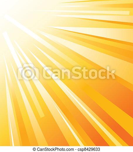 summer sun - csp8429633