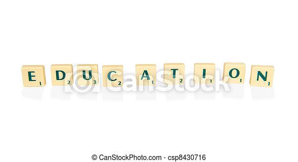 Education - csp8430716